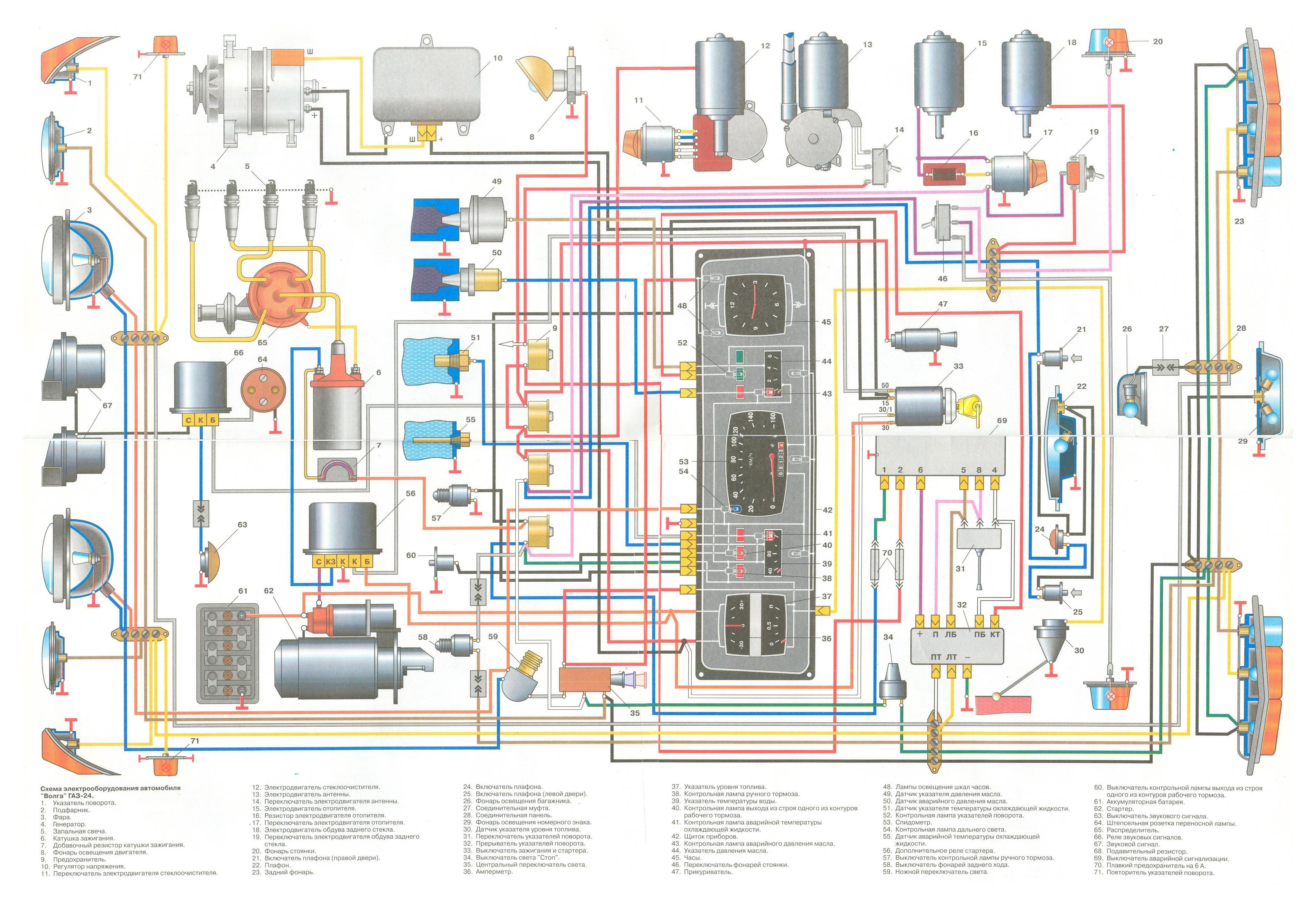 шумгенератор газель 402 схема